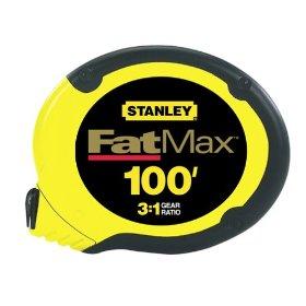 Stanley 34-130 100-Foot FatMax Long Tape Rule