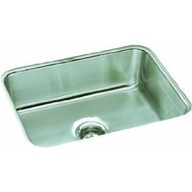 "Sterling 11447-NA McAllister Undercounter Single-basin Kitchen Sink, 24"" x 18"" x 8"", Stainless Steel"