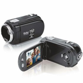 Vivitar DVR HD Camcorder by JCPenney - Black