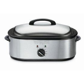 Waring Pro RO18 Professional 18-Quart Oven Roaster, Brushed Stainless