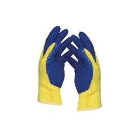 Weston KevlarR Cut-Resistant Gloves - Yellow/ Blue (Extra Large)