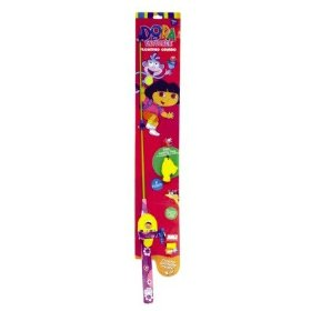 Zebco Dora the Explorer Floating Spincast Combo