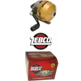 Zebco Spincast Fishing Reel Spooled with 10-Pound Line
