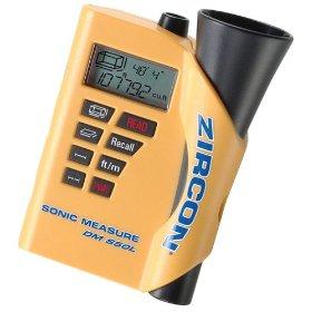 Zircon Ultrasonic Measure with Laser Targeting